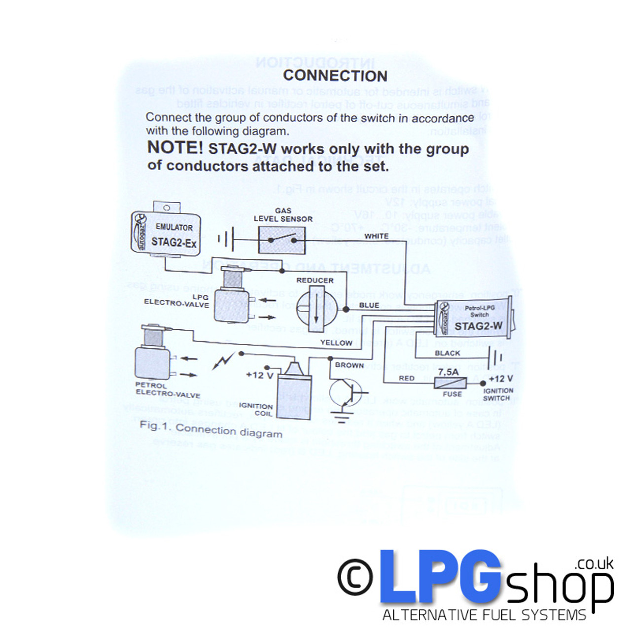 small resolution of stag 2 w injection petrol lpg switch lpg switch wiring diagram