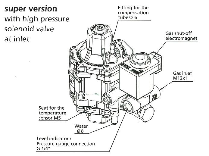 Tomasetto AT-12 RMAT3820 SUPER 400HP CNG Methane Pressure