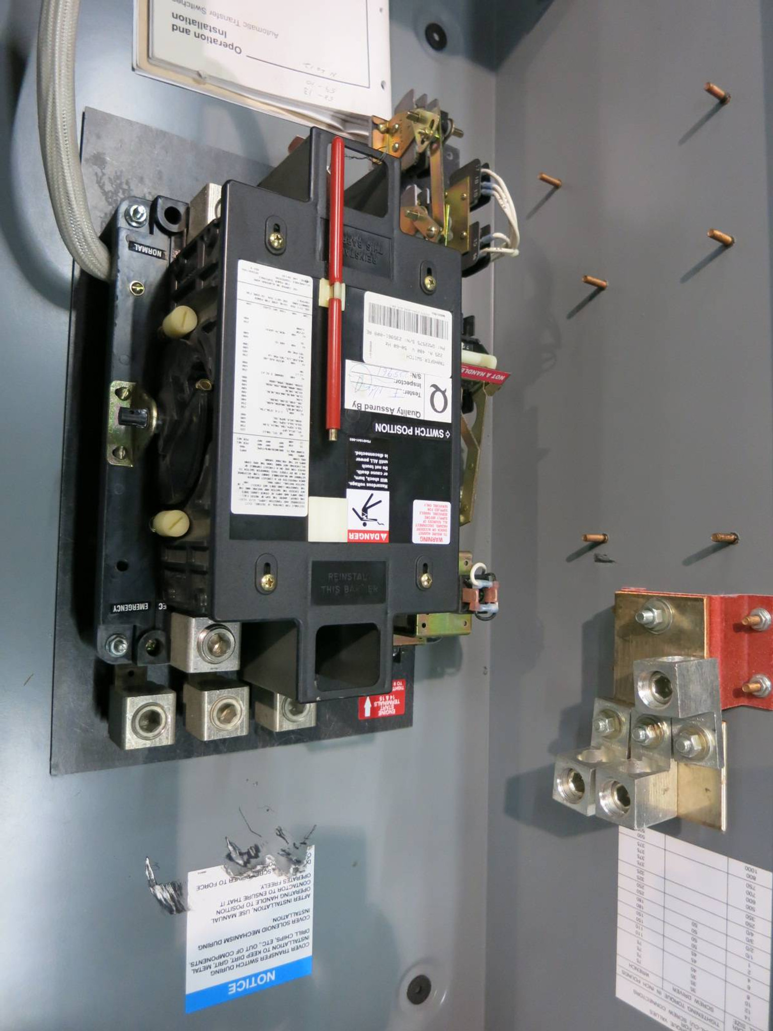 hight resolution of kohler 225 amp automatic transfer switch 480v kct amta 0225s 4 wire ats gm22575 np1918 1 river city industrial