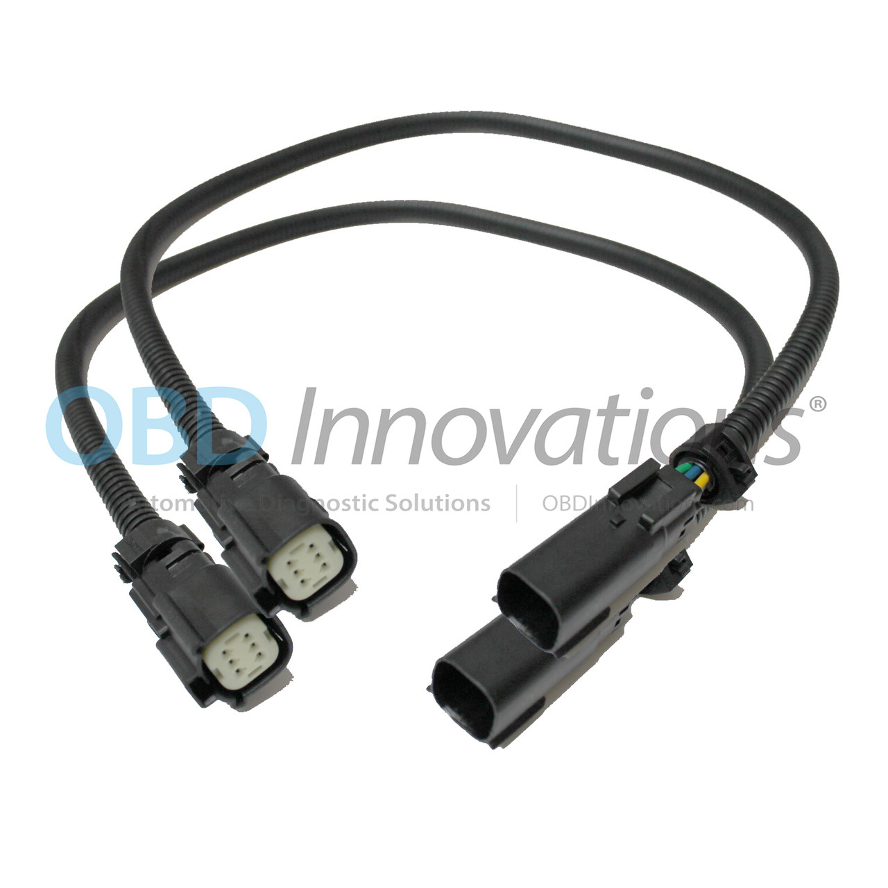 6 pin o2 sensor extension cable 15 17 mustang gt obd innovations gt wiring harness gt toyota tail light connector harness extension [ 1280 x 1280 Pixel ]