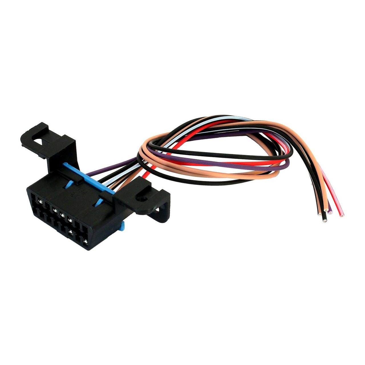 hight resolution of obdii obd2 j1962 class 2 can bus wiring harness connector pigtail dodge wiring harness can wiring harness