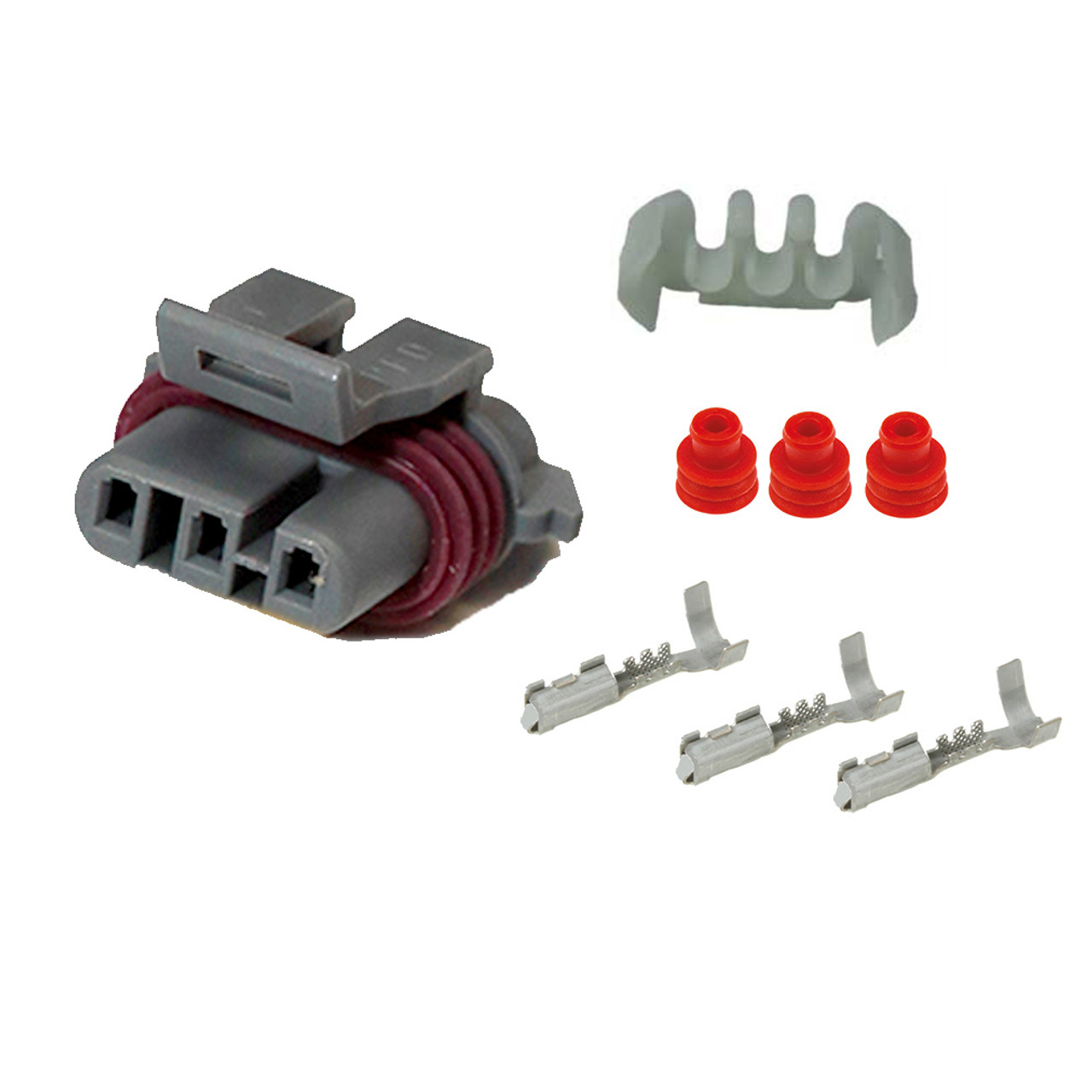 hight resolution of map sensor wiring harness female connector kit for gm ls1 ls2 ls6 4253456543 85560 1544226081 jpg