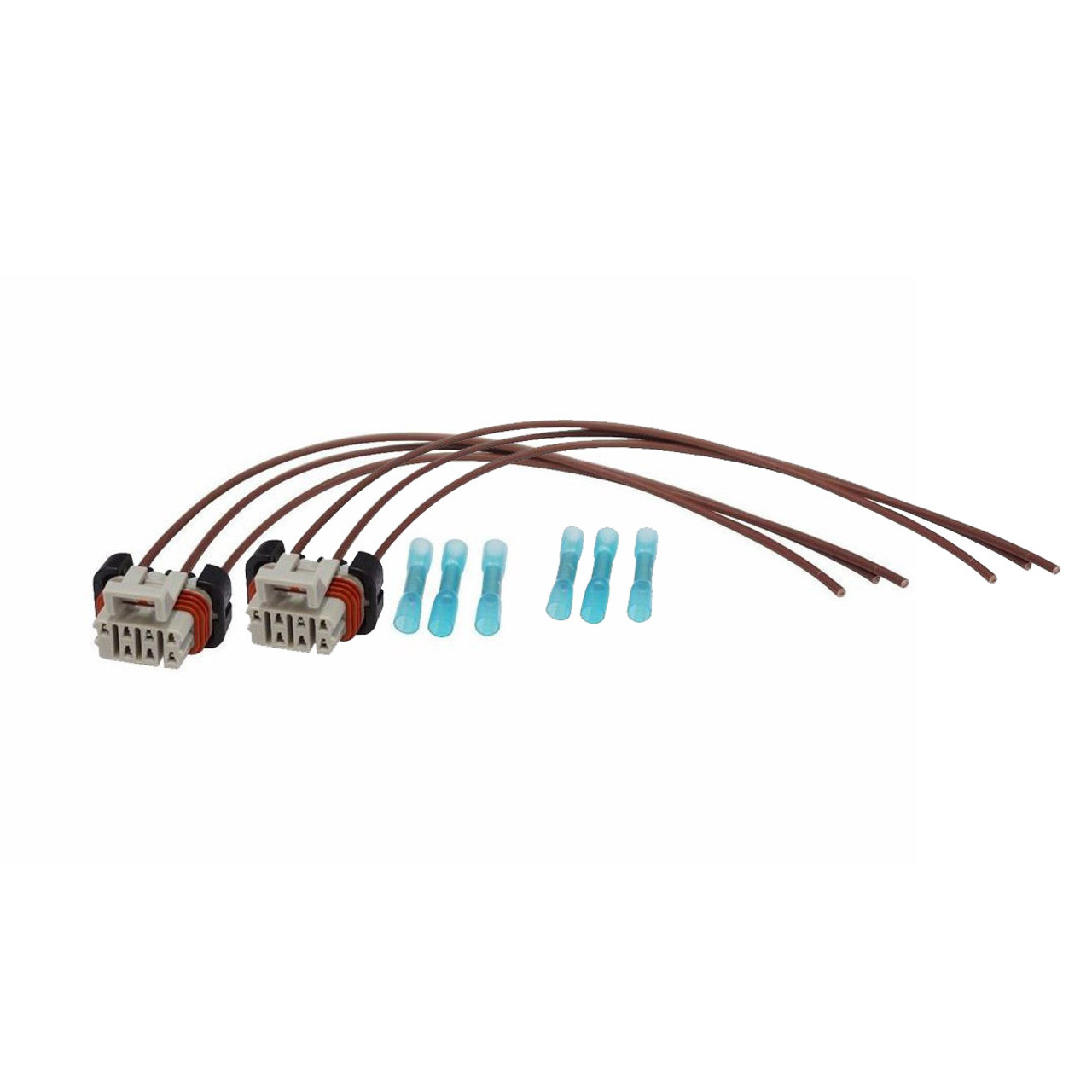 headlight wiring harness connector pigtail for 05 14 freightliner columbia 2 pack  [ 1078 x 1078 Pixel ]