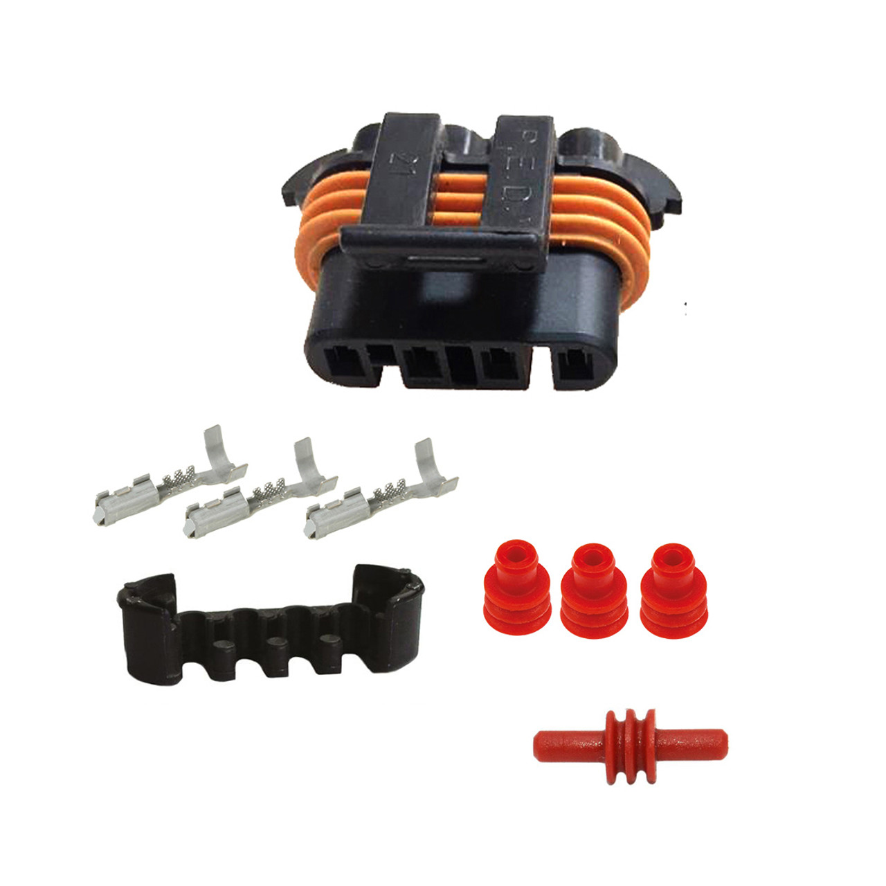 alternator connector kit ls1 ls6 98 02 camaro firebird corvette c5 [ 1139 x 1139 Pixel ]