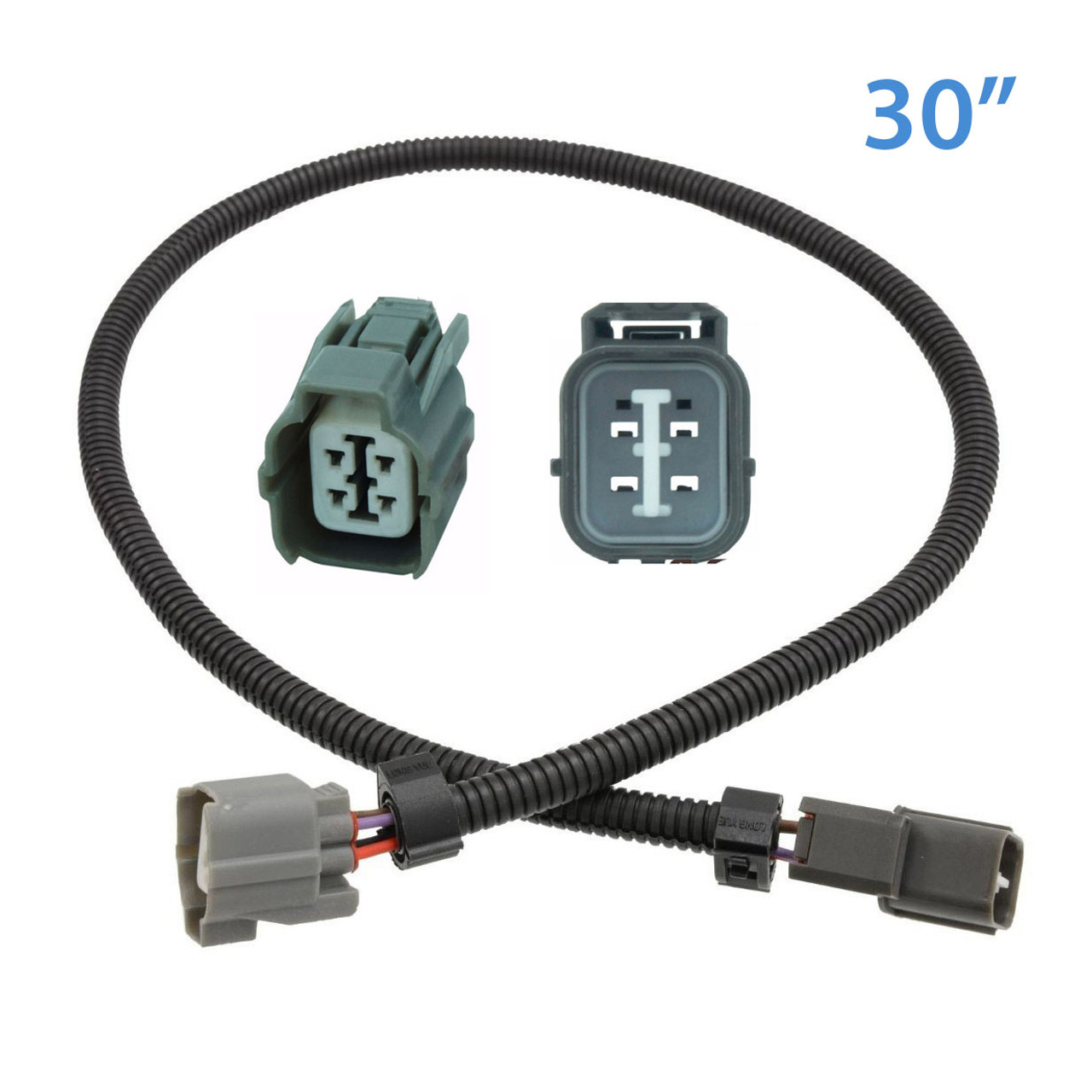 medium resolution of 4 wire o2 sensor extension cable honda civic integra 30 obd gt wiring harness gt toyota tail light connector harness extension