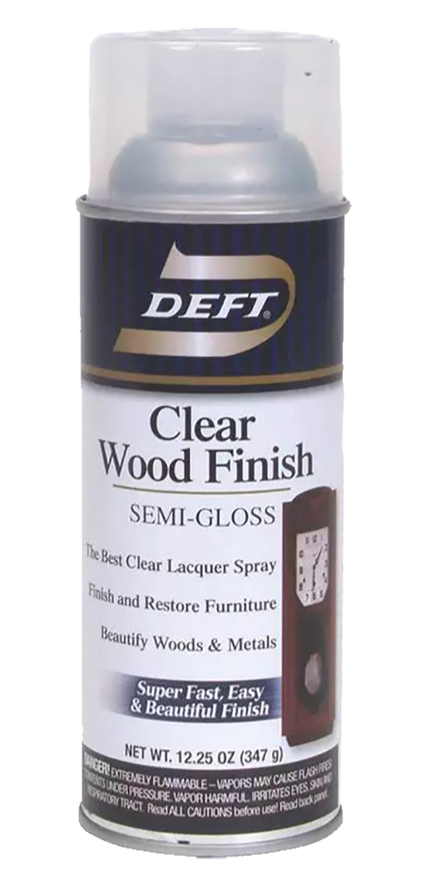 Deft Clear Wood Finish Semi Gloss
