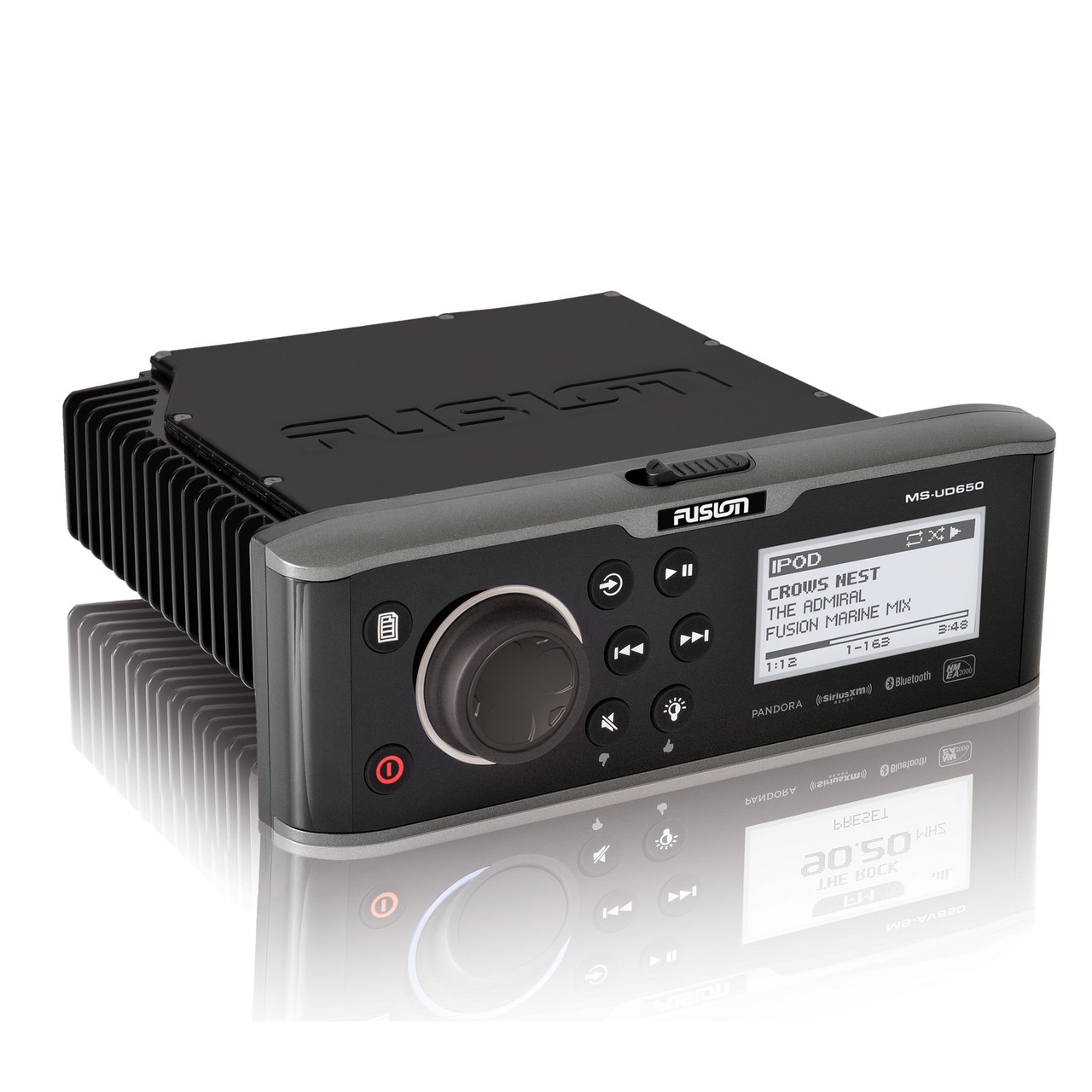 small resolution of fusion ud650 marine entertainment system with internal uni dock