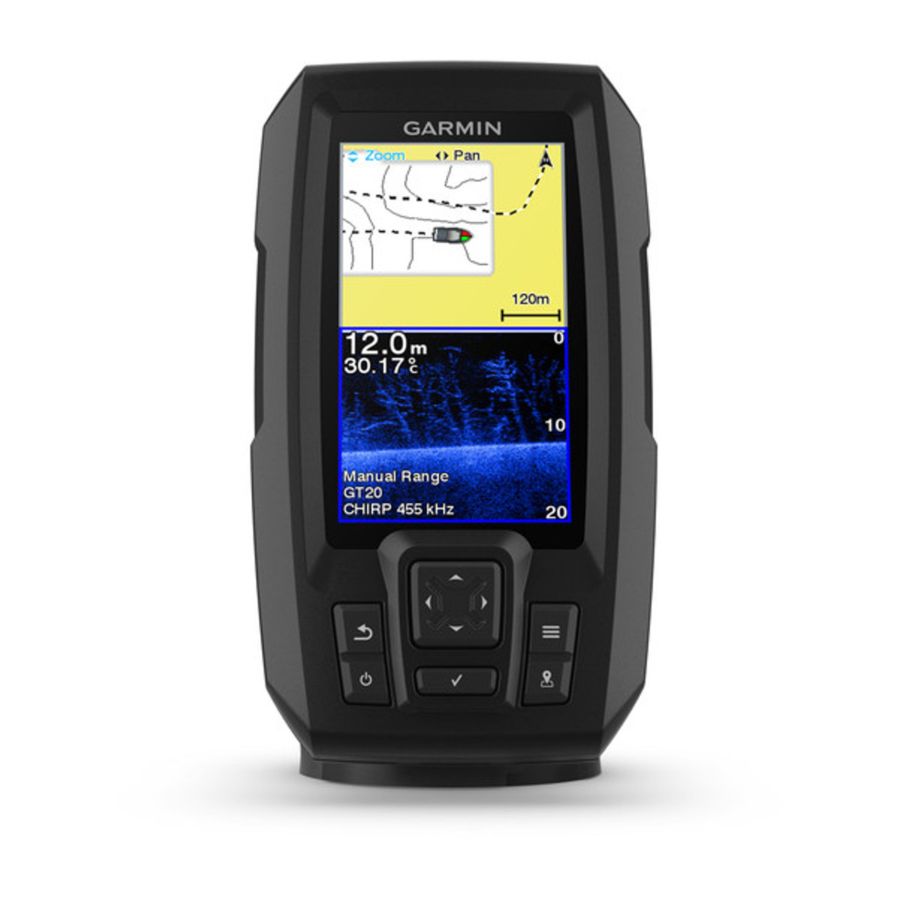 hight resolution of garmin striker plus 4cv