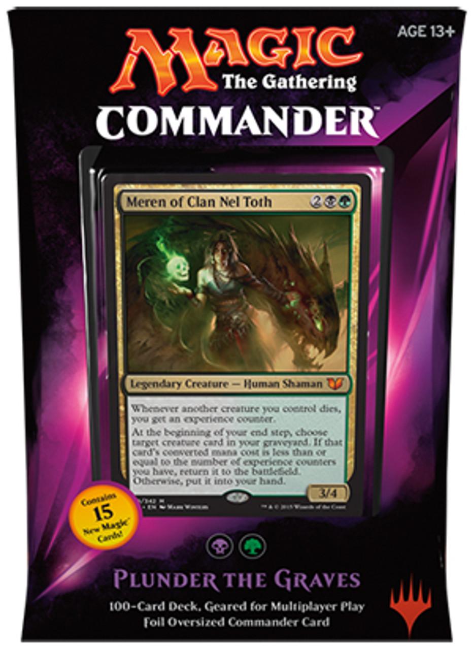 mtg commander 2015 plunder