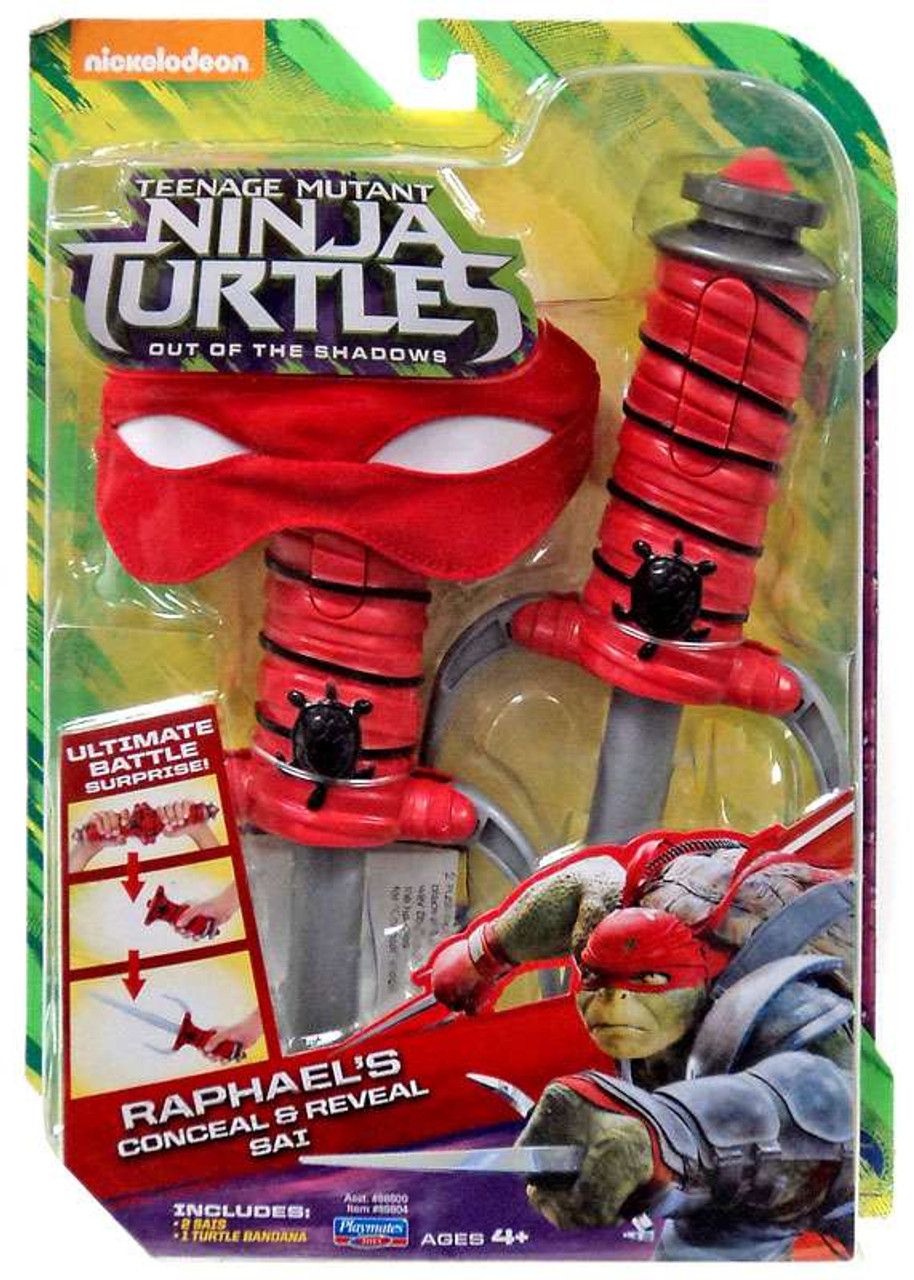 Teenage Mutant Ninja Turtles Out Of The Shadows Toys : teenage, mutant, ninja, turtles, shadows, Teenage, Mutant, Ninja, Turtles, Shadows, Raphaels, Conceal, Reveal, Roleplay, Playmates, ToyWiz