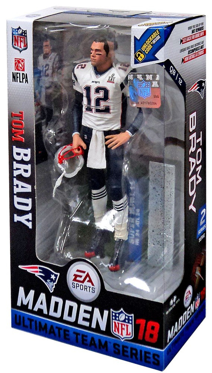 McFarlane Toys NFL New England Patriots EA Sports Madden