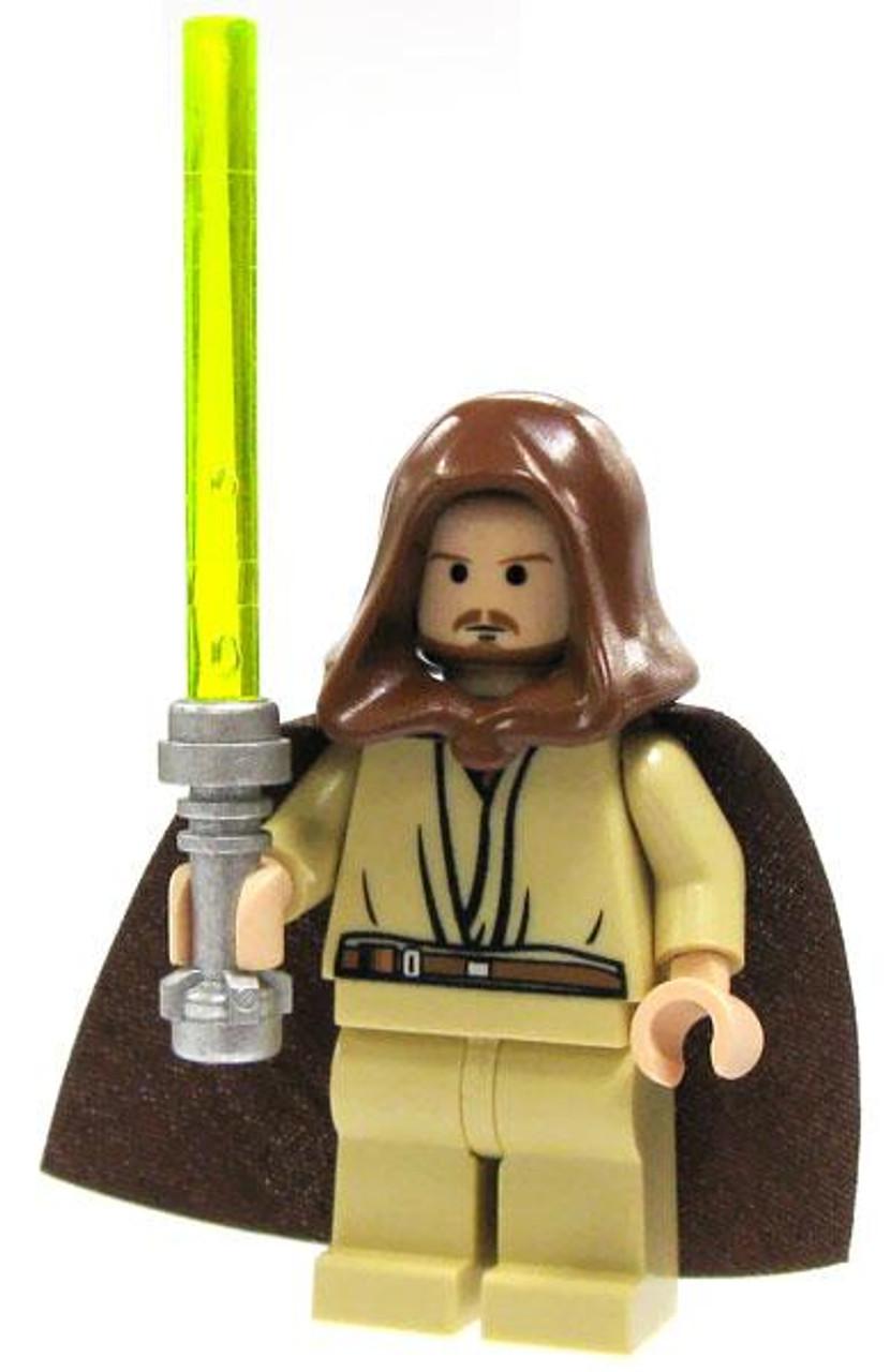 Lego Star Wars Qui Gon Jinn Icon : Loose, Qui-Gon, Minifigure, ToyWiz
