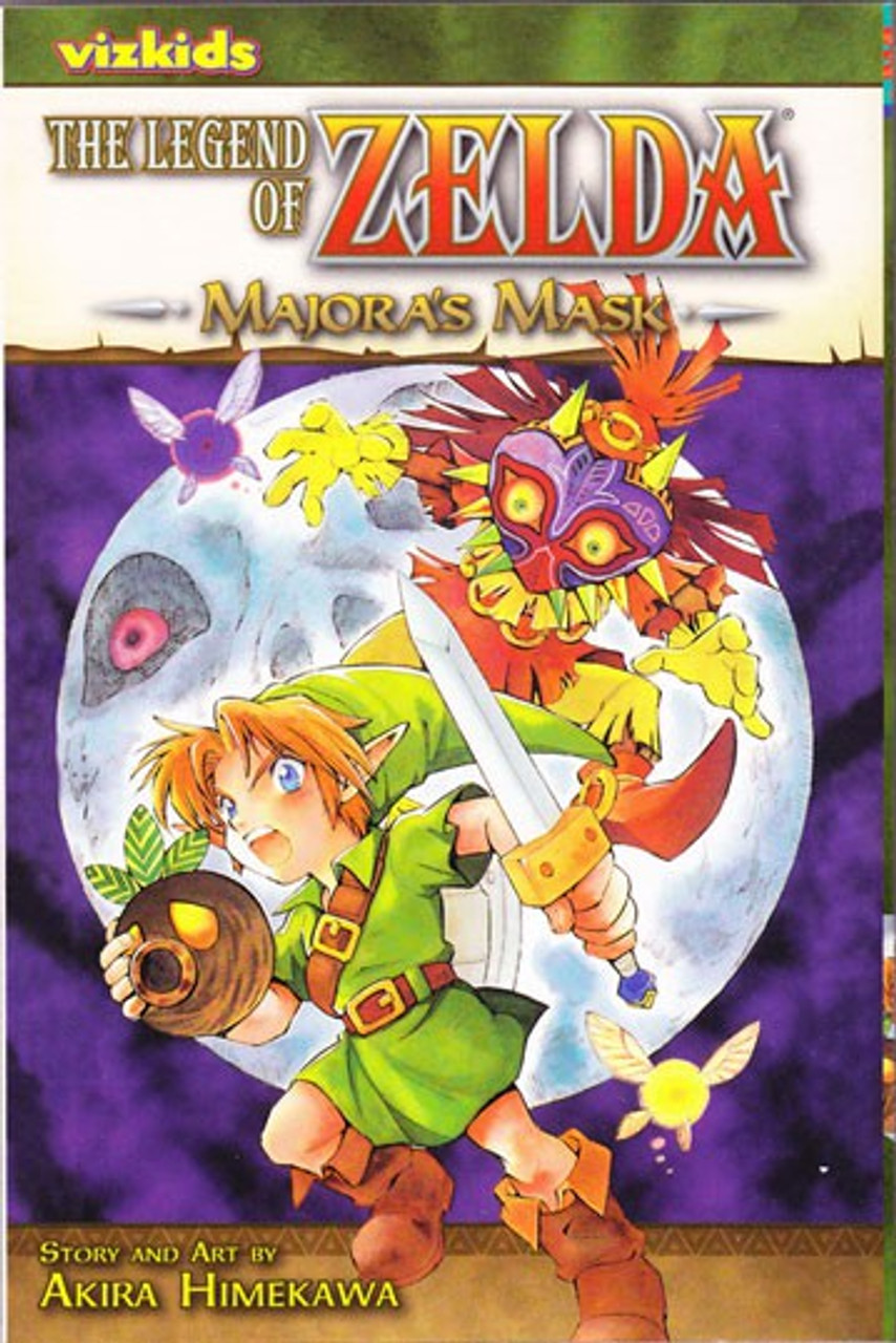 The Legend Of Zelda Majora's Mask : legend, zelda, majora's, Legend, Zelda, Majoras, Manga, Volume, Vizkids, ToyWiz