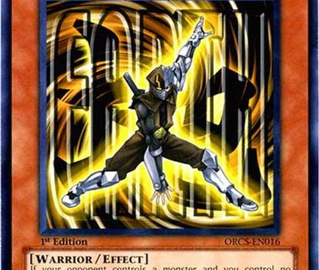 Yugioh 5ds Order Of Chaos Single Card Common Earth Armor Ninja Orcs En016 Toywiz