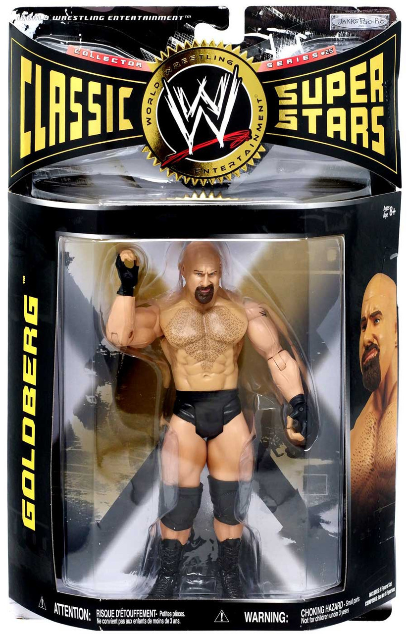 Wwe Wrestling Classic Superstars Series 25 Goldberg Action
