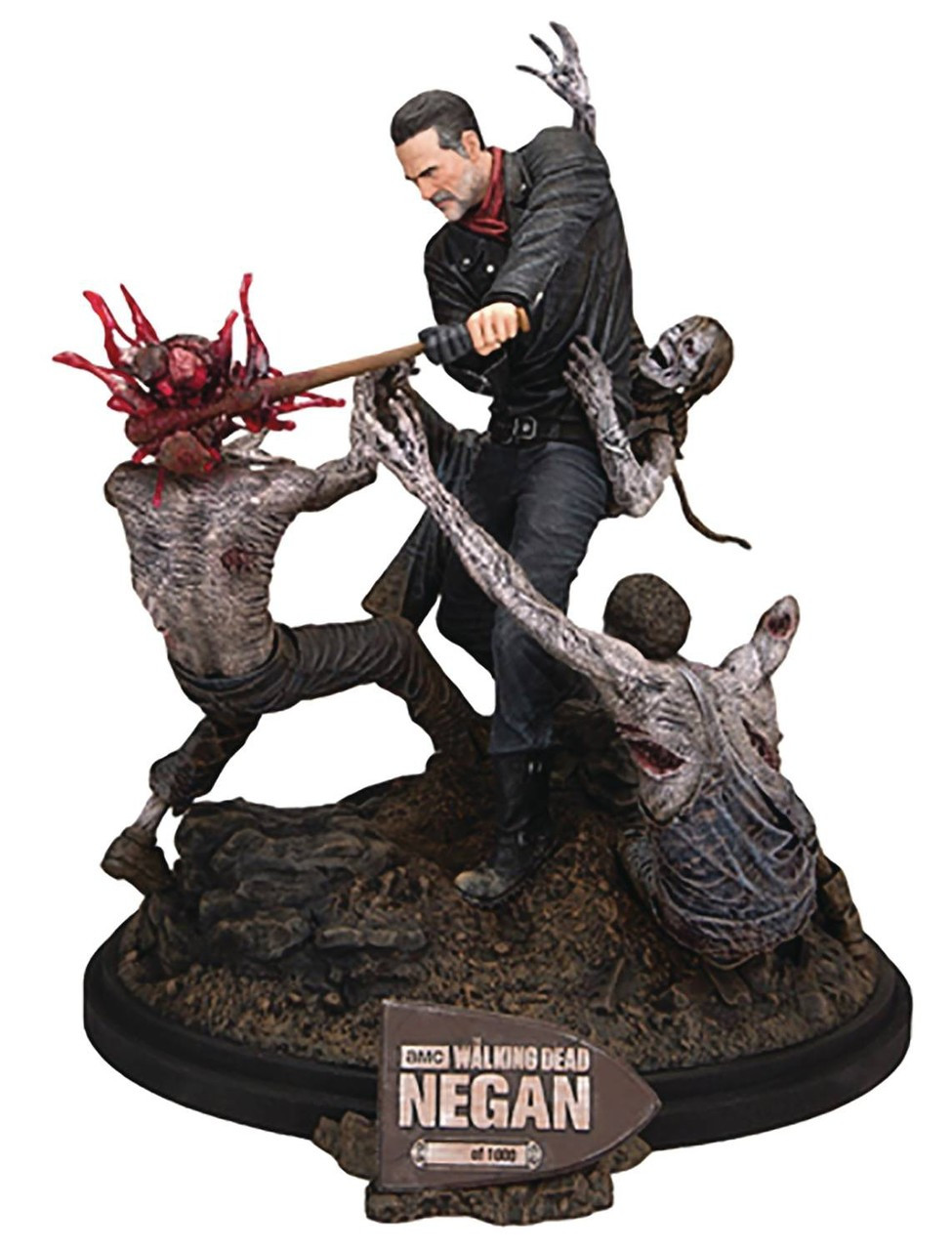 McFarlane Toys The Walking Dead Negan 12 Limited Edition Statue ...