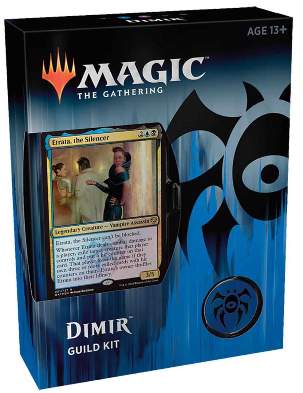 Magic Gathering Guilds Of Ravnica Dimir Guild Kit 60