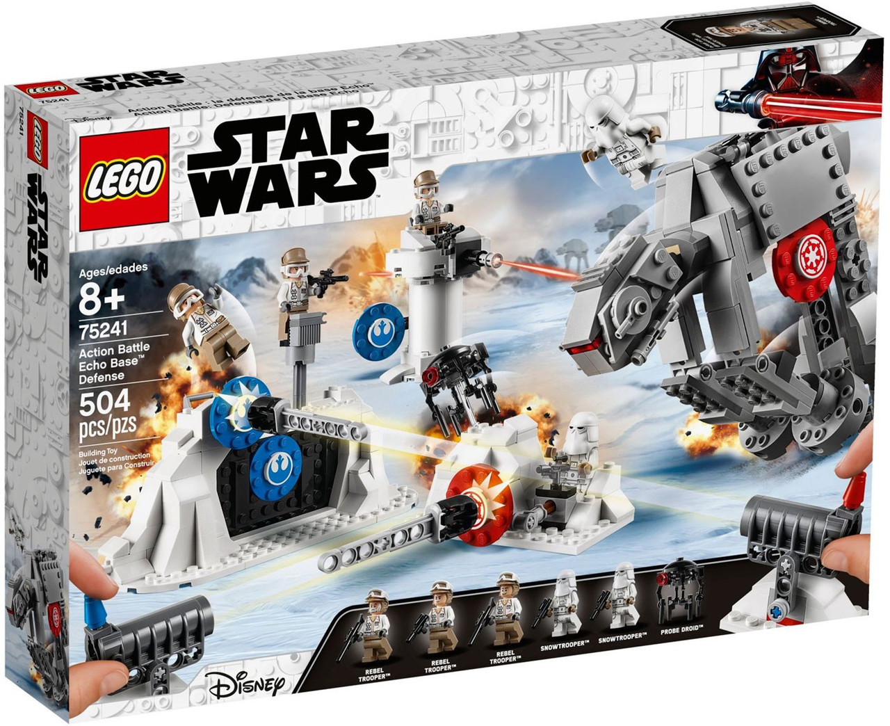 Lego Star Wars Action Battle Echo Base Defense Set 75241