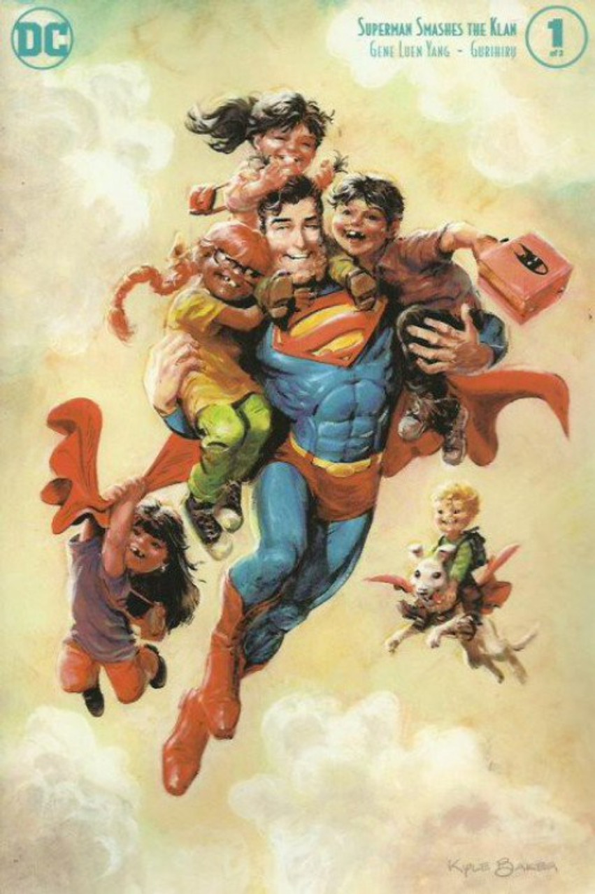 DC Superman Smashes the Klan #1  [Kyle Baker Variant Cover]