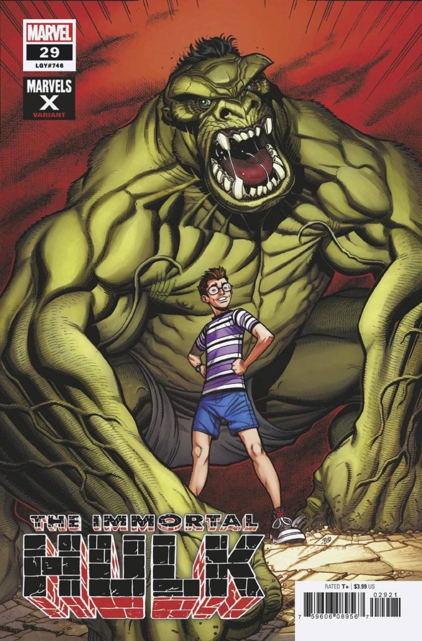 Marvel The Immortal Hulk Comic Book 29 Joe Bennett Marvels X ...