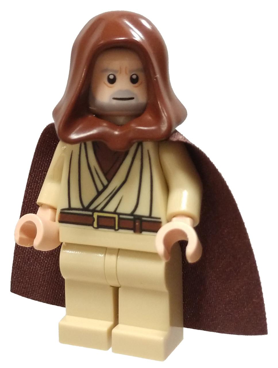 Lego Star Wars Obi Wan Icon : Obi-Wan, Kenobi, Minifigure, Loose, ToyWiz