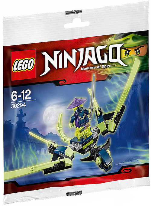 Lego Ninjago The Cowler Dragon Mini Set 30294 Bagged Toywiz