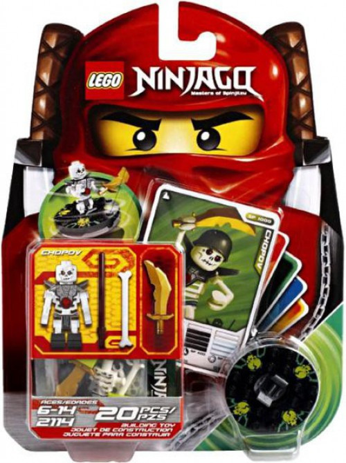 Lego Ninjago Spinjitzu Spinners Chopov Set 2114 Toywiz
