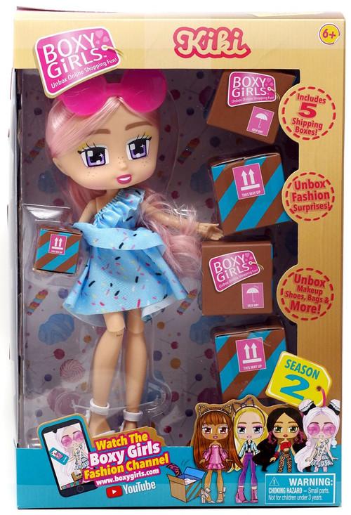 Boxy Girls Season 2 Kiki Doll Jay At Play Toywiz