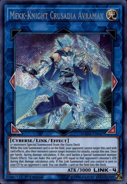 Yugioh Dark Neostorm Single Card Secret Rare Mekk Knight