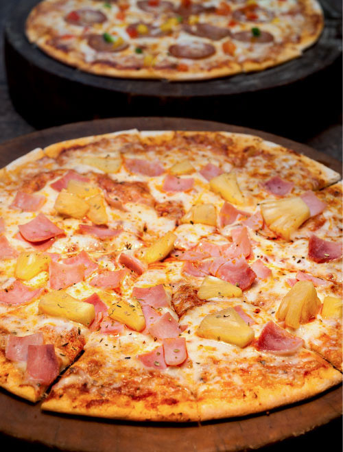 pineapple and canadian bacon