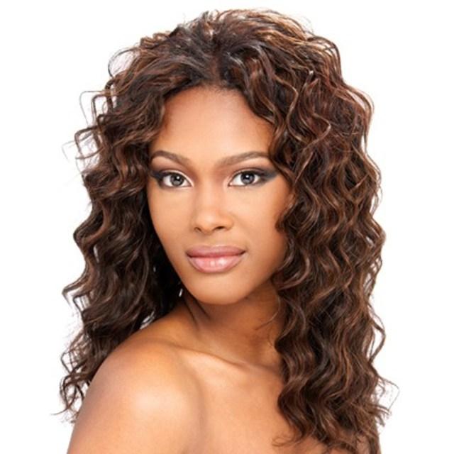 human hair weave milky way que loose deep 4pcs - top hair wigs
