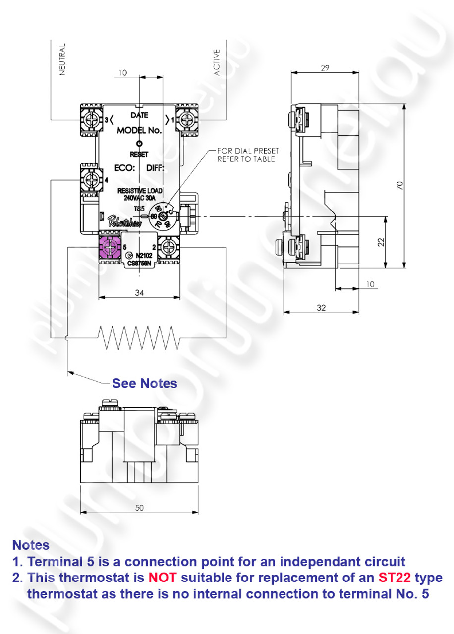 small resolution of  robertshaw st1208133pk rheem heat pump replacement thermostat wiring detail