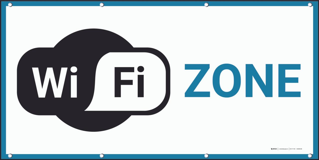 wifi zone banner