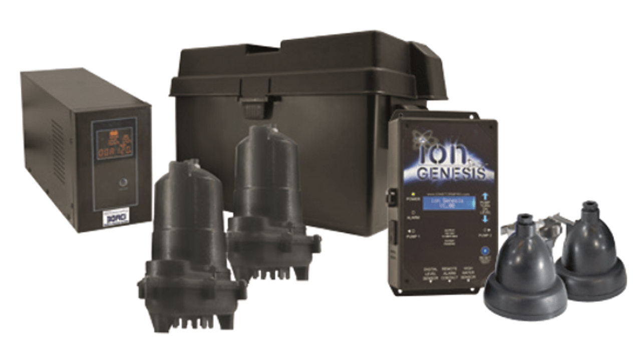 ion 30aci deluxe sump pump battery backup system [ 1280 x 685 Pixel ]