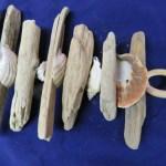 Driftwood Garland Strand Natural With Shells Coastal Decor