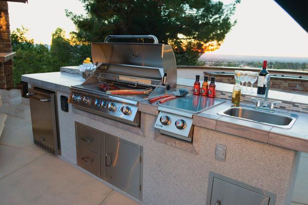 13700 premium outdoor rated stainless steel fridge series ii