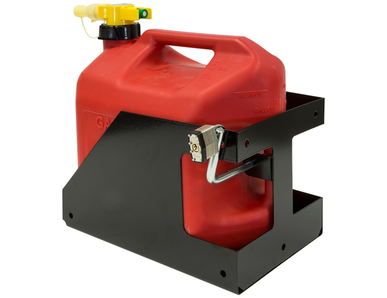https leonardaccessories com product towing trailer accessories buyers products locking gas container rack landscape trailers