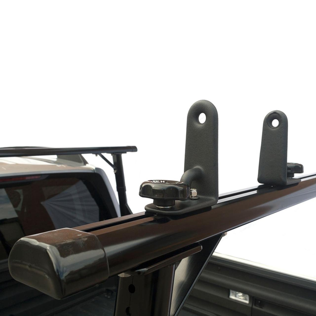 https leonardaccessories com product ladder racks vantech p3000 clamp on aluminum system for standard pickup trucks