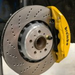 Front Caliper Carrier Kit Allows Fitment Of M5 M6 F10 F12 6 Piston Brembo Calipers To Oe 400mm Discs Ak0009 Vagbremtechnic