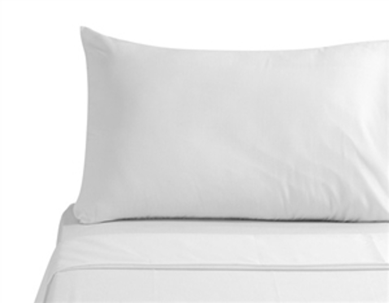 pillow case classic white king size set of 2