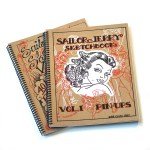 Sailor Jerry Pin Up Sketchbook Set