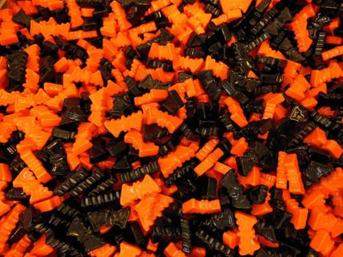 candy color orange page
