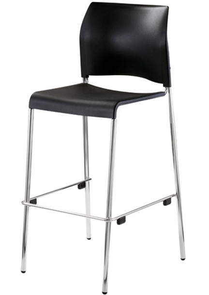 public seating chairs chair picture frame national 8810b 11 10 cafetorium bar stool with plastic seat
