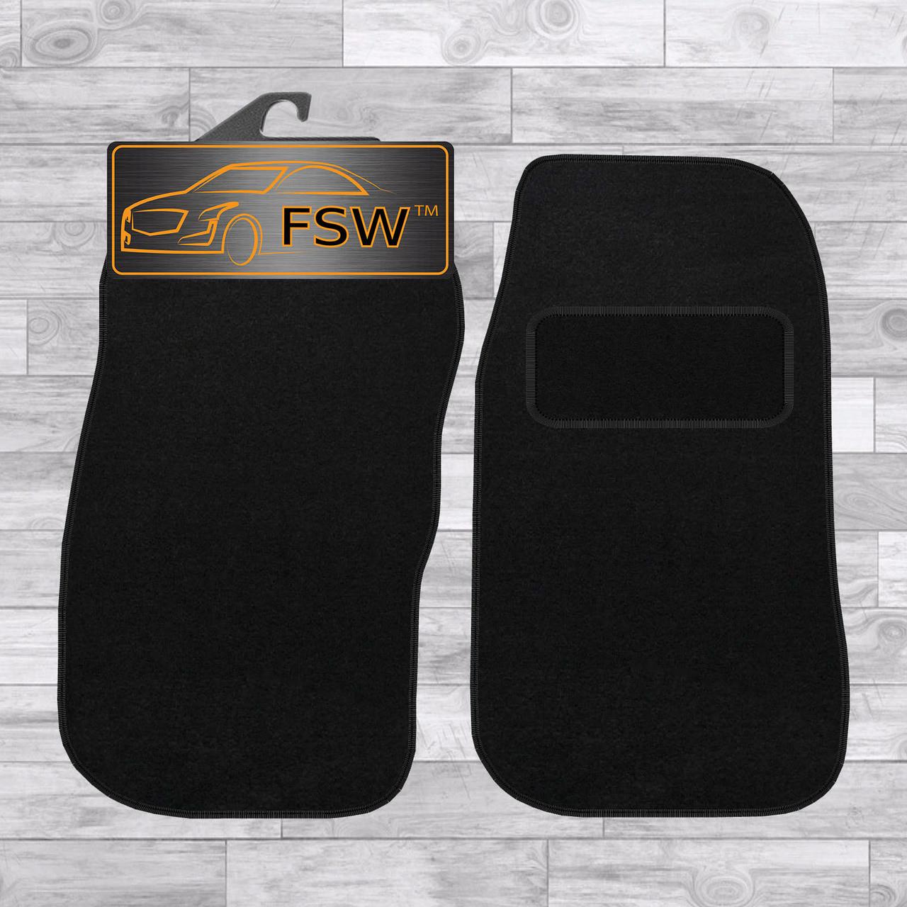 ford transit van 2000 2006 2 piece front tailored classic car floor mats black [ 1280 x 1280 Pixel ]