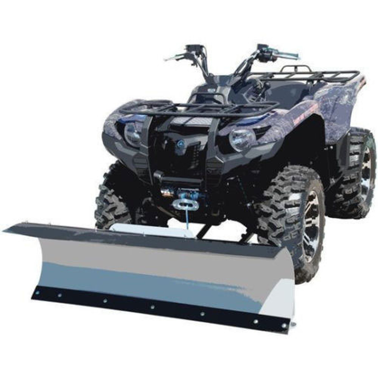medium resolution of snow plow packages for polaris atv models select plow blade plow mount winch options westendmotorsports com