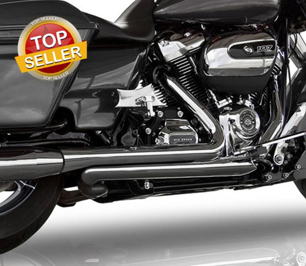 stage 2 svt boneshaker power package for 17 up harley davidson touring models choose black or chrome