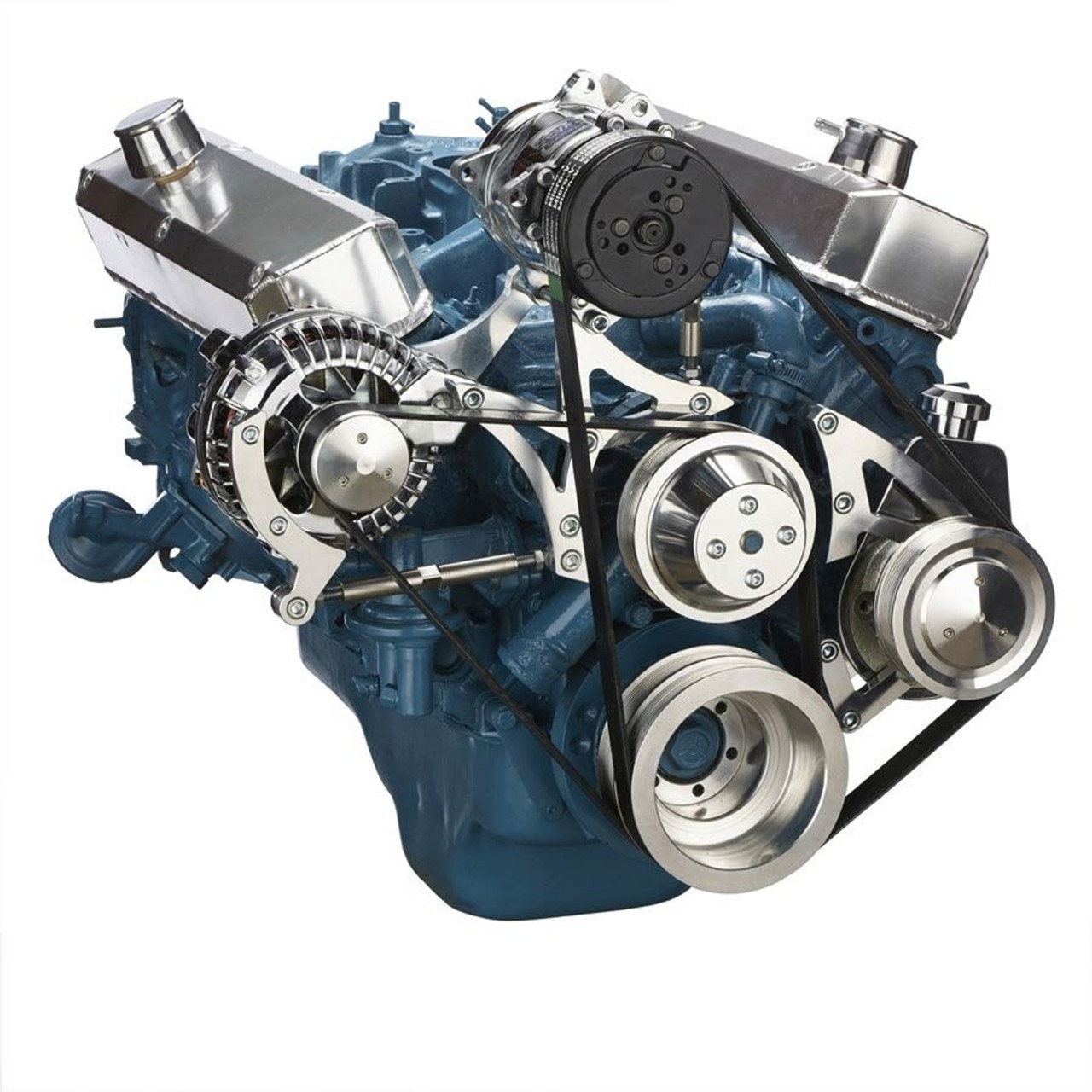 medium resolution of  small block chrysler serpentine conversion air conditioning and power steering