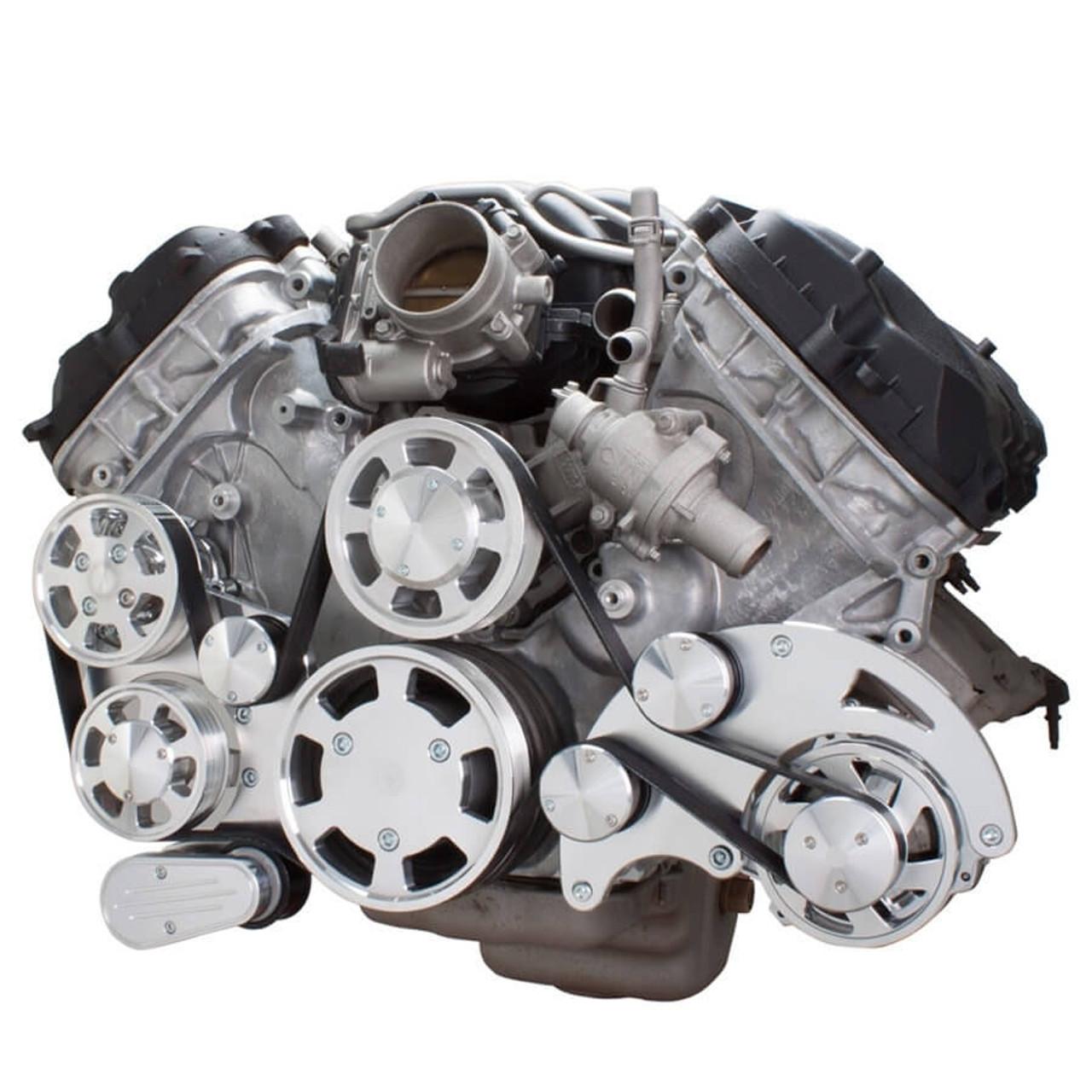 medium resolution of serpentine system for ford coyote 5 0 alternator power steering