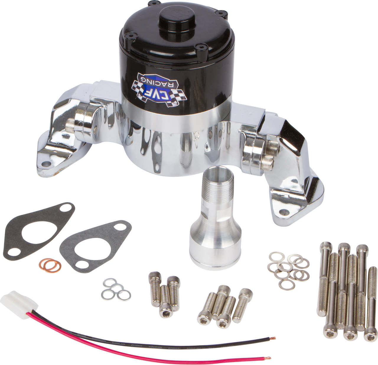 ford 289 302 351w small block electric water pump  [ 1280 x 1238 Pixel ]
