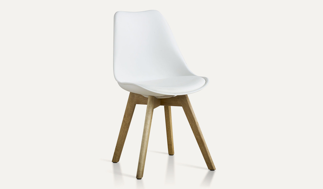 White Dining Chairs Vibe Dining Chair